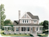 Country Victorian House Plans with Porches Victorian ...