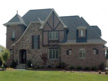 Stone and Brick French Country House Plans
