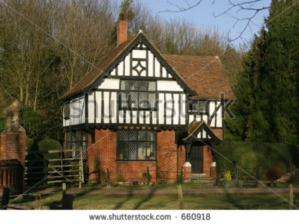 Traditional English Detached House Stock 660918