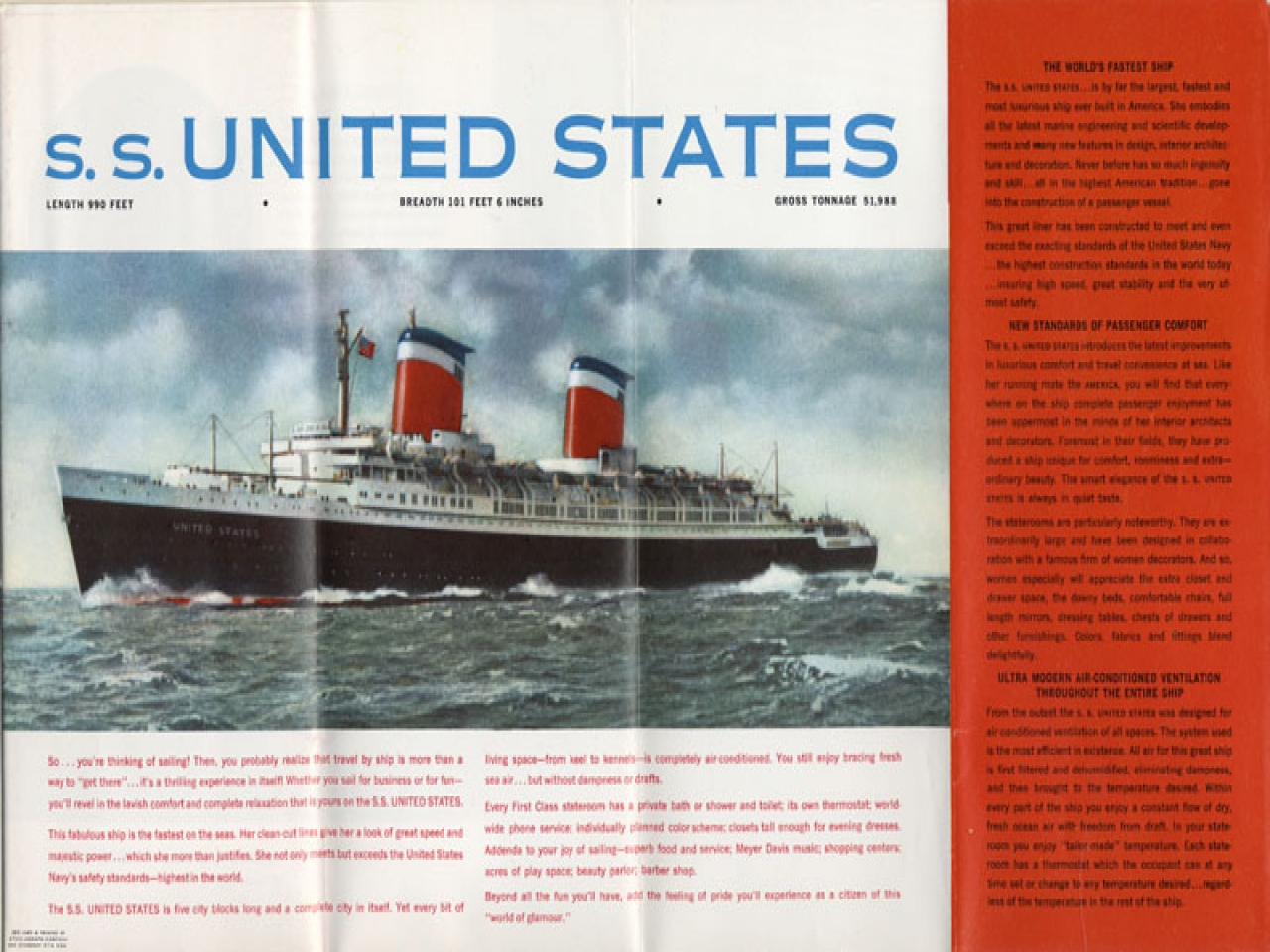 Latest On SS United States United States SS Ocean Liner Interior ocean liner deck plans