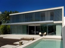 Glass and Concrete Modern Homes
