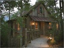 Rustic Mountain Cabin House Plans Cabins
