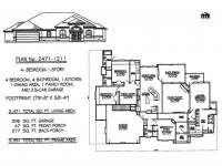 1 Story 4 Bedroom House Plans 4 Bedroom House, house plans ...