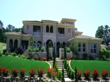Italian Mediterranean Luxury House Plans