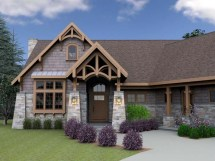 Mountain Cottage House Plans Lake