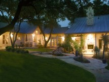 Texas Hill Country Ranch House Plans
