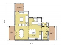 Small House Floor Plans Under 1000 Sq FT Unique Small ...