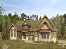 Wisconsin Timber Frame Homes Log Home Floor