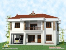 2 Story House Elevations