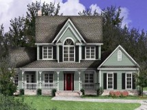 Simple Country Style House Plans
