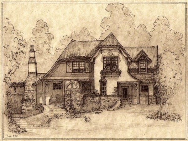 Storybook Cottage House Plans Little Home