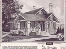 Simple Craftsman Bungalow Sears House