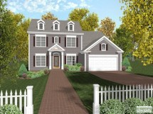 Colonial House Plans Designs