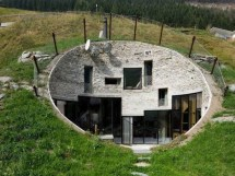 Earth Home Sheltered Underground House Plans