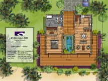 Cottage House Plans Tropical Small