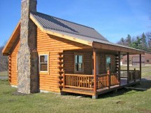 Small Log Cabins With Lofts Square Cabin