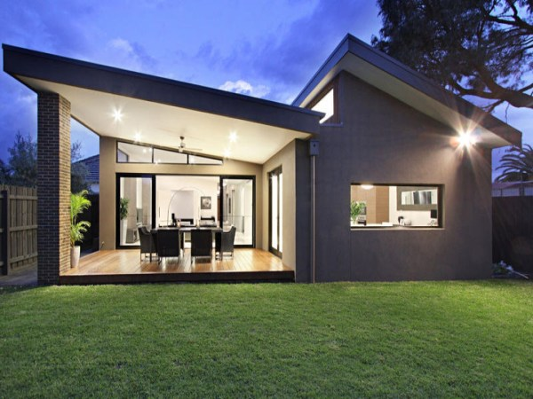 Small Modern Ranch House Contemporary Homes