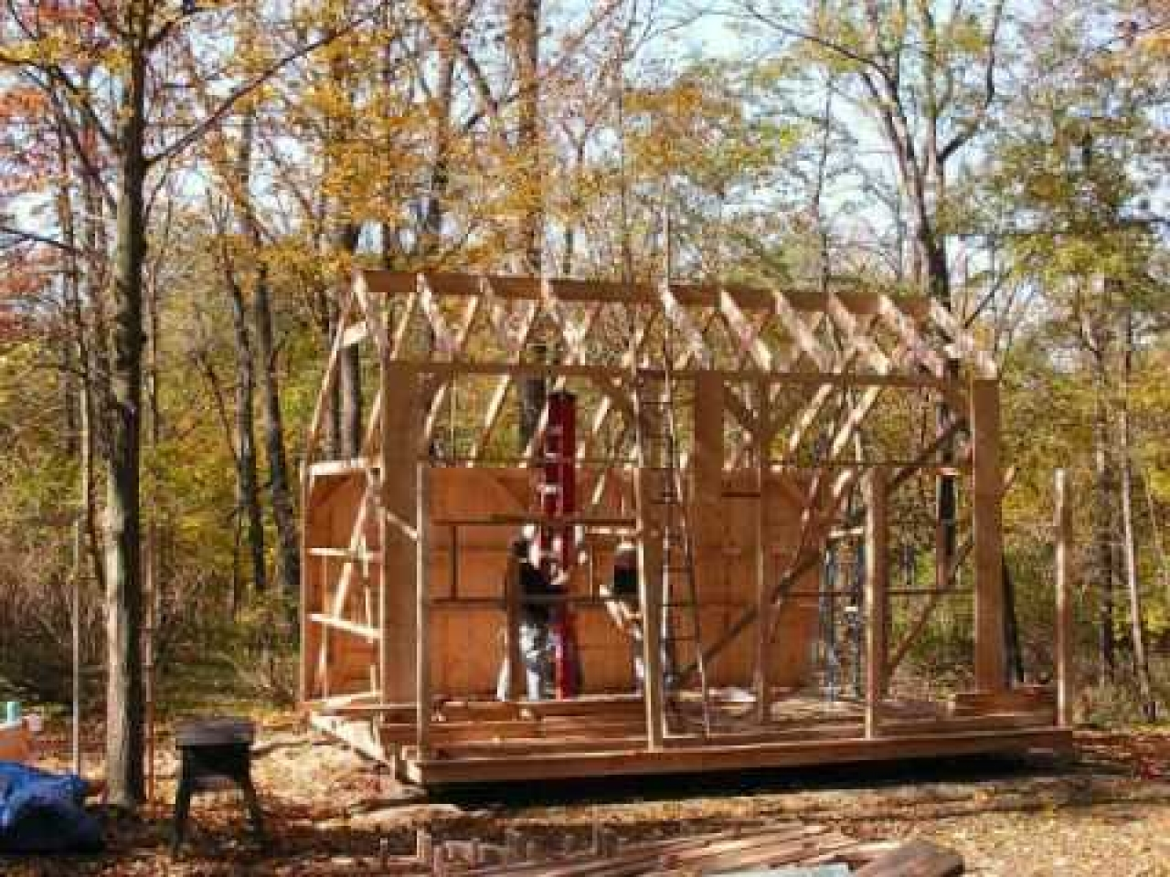 16x20 Shed Material List 16x20 Cabin Plan With Loft