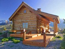 Log Cabin Kits Small Homes Plans Mountain
