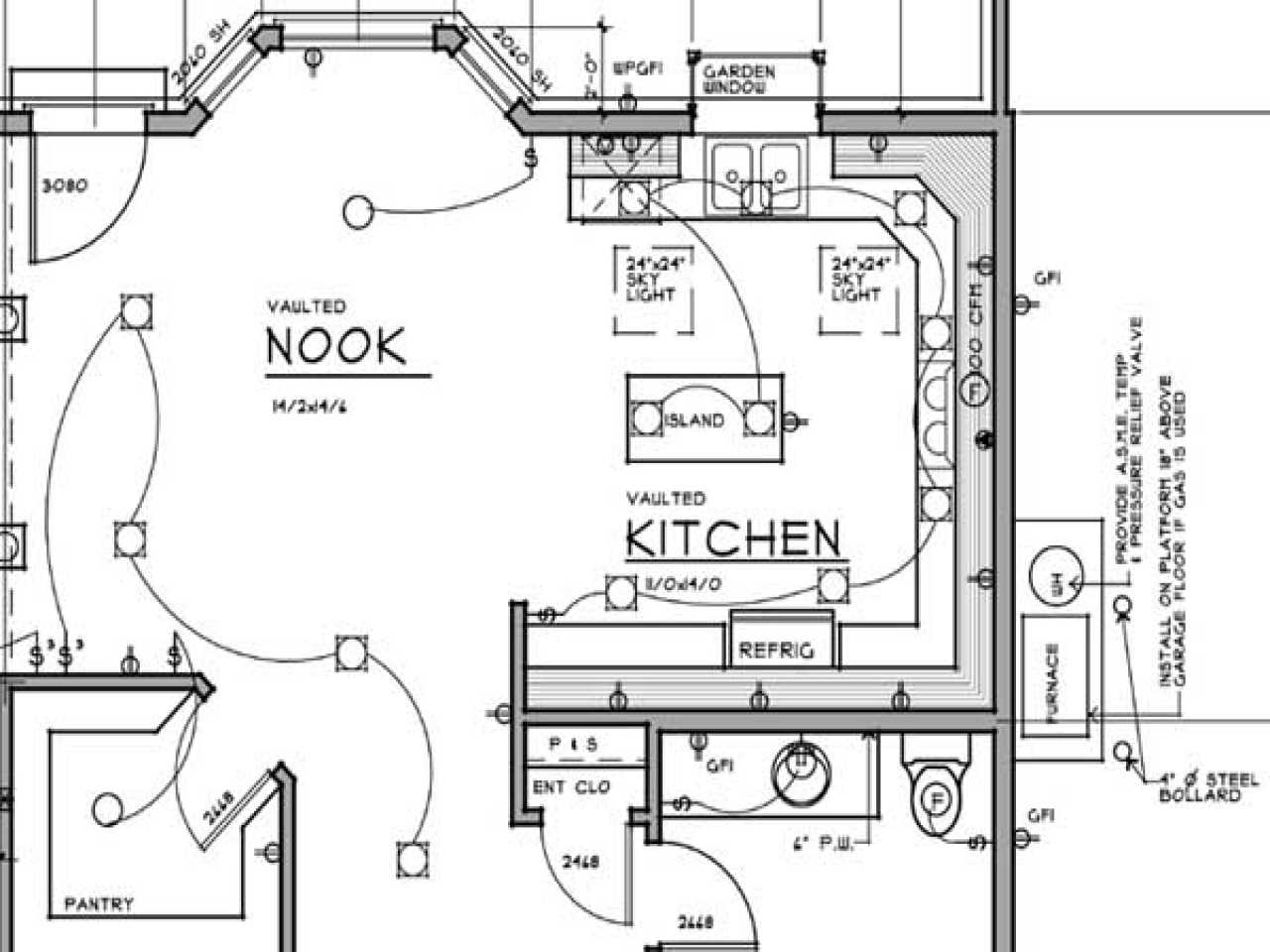 electrical layout plan for house