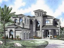 Home Luxury Mediterranean House Plans Design