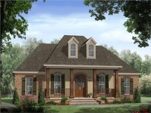 Country House Plans With Porches French