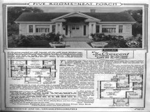 Craftsman Bungalow House Plans Sears