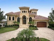 Spanish Style Home Design In Florida Homes