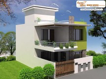 Simple Duplex House Design Small Plans