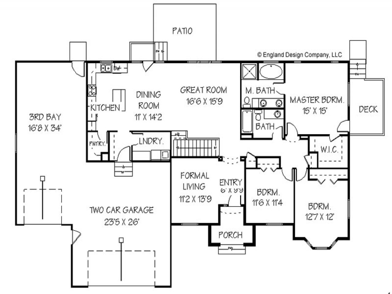 Family Room Addition Floor Plans Home Addition Plans for Ranch Style House, small vacation home ...