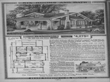 Sears Craftsman Bungalow House Plans 1920s