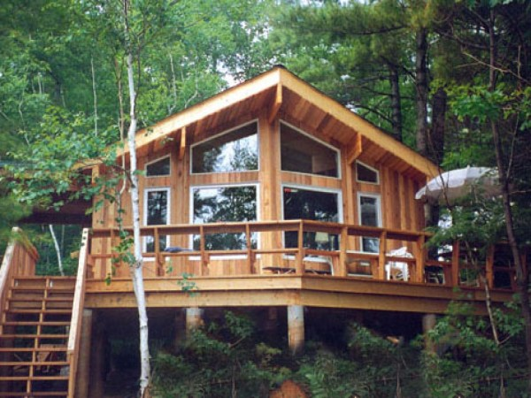 Small Post And Beam Cabins Cabin Plans