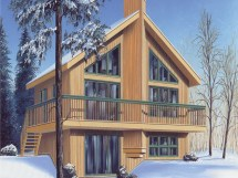 Chalet Style House Plans Swiss Design Small