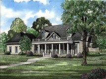 Traditional Colonial House Plans Southern