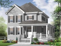 Old Farmhouse House Plans with Porch