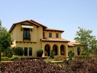 Spanish Style Home Architecture Tuscan Style Homes ...