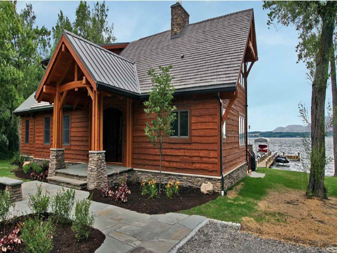 Small Lakefront Home Plans Small Retirement Home Plans