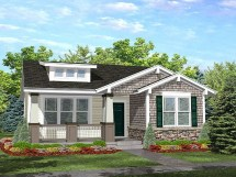 Small Craftsman Bungalow Style House Plans