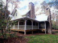 Rustic Cabin Plans with Wrap around Porch Rustic Country ...