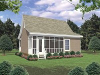 Small Country House Plans with Porches Small Guest House ...