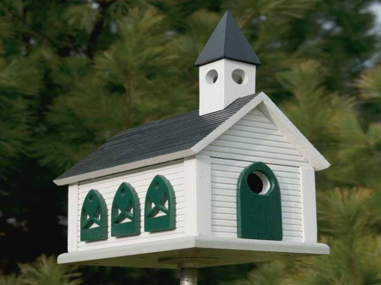 Barnwood Church Birdhouse Plans Church Birdhouse Plans Downloadable House Plans