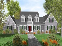 Cape Cod House Floor Plans