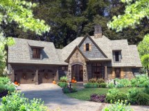 French Country Cottage Home Plan