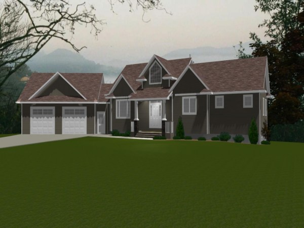 House Plans with Attached Garage