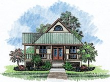 Louisiana Acadian Style House Plans