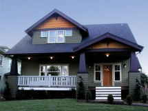Modern Craftsman Style Homes Bungalow Home