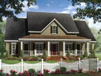 Ranch House Plans with Porches Country Ranch House Plans ...
