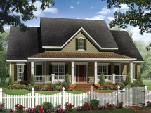 Small Country Ranch House Plans