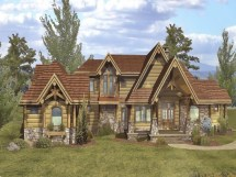 Rustic Log Home Floor Plans