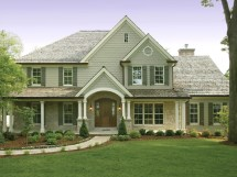 Traditional 2 Story House Plans Modern